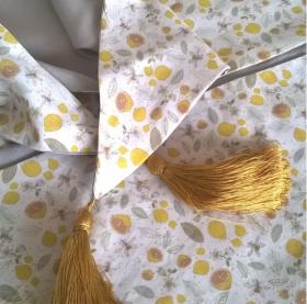 Limonade / foulard soie